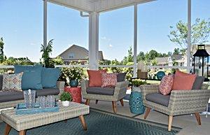 Essex Homes porch