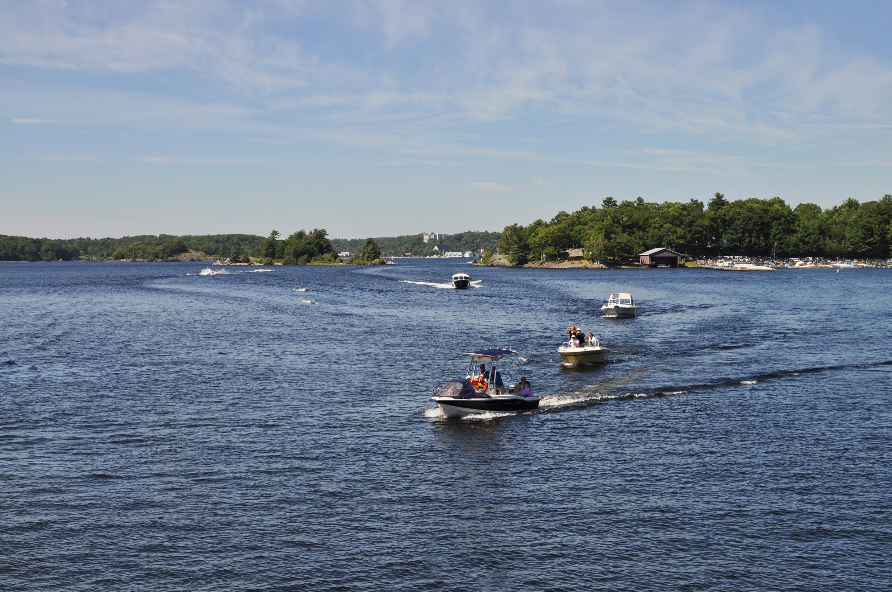 Activities like boatings are comparable from Lake Norman to Lake Wylie
