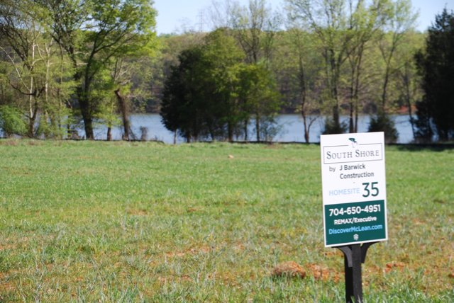 south shore at mclean with waterfront homes on lake wylie