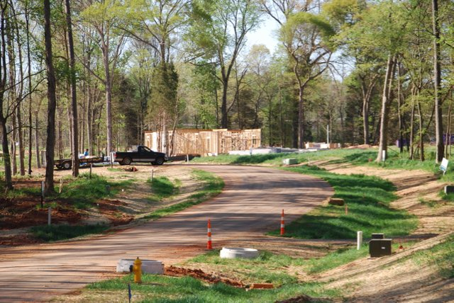 new construction homes right outside of Charlotte NC