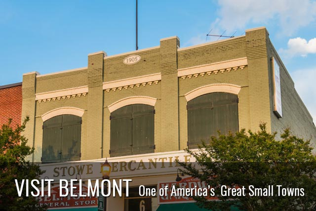 Visit Belmont - One of America's Great Small Towns