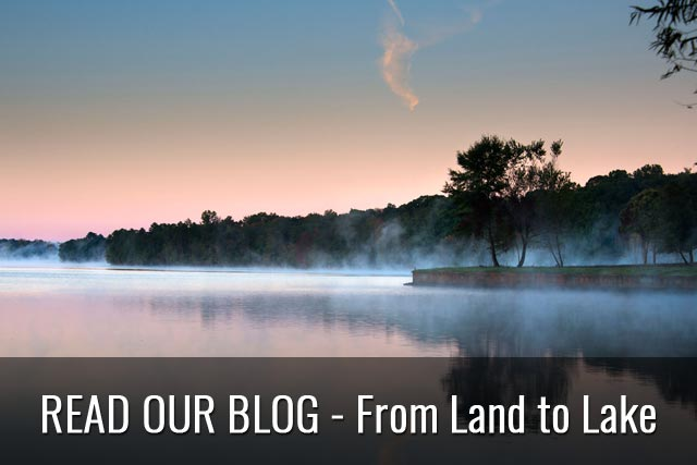 Read Our Blog - From Land to Lake