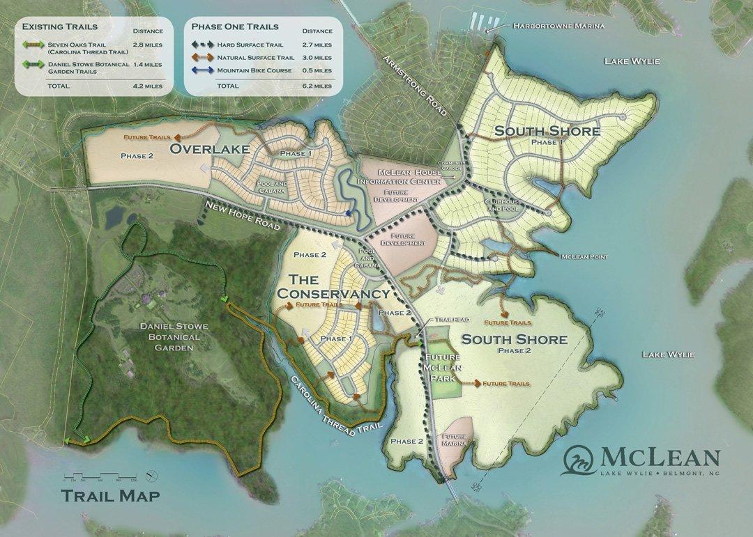 McLean Trail Map
