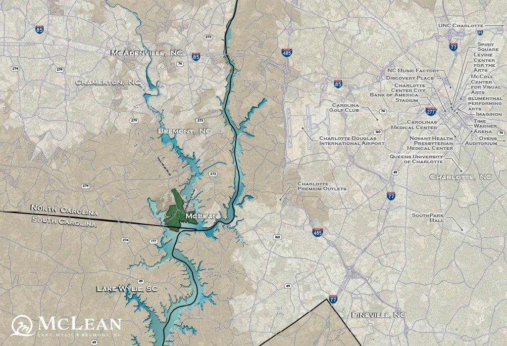 McLean map - Charlotte