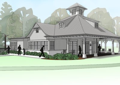 Conservancy Clubhouse Rendering
