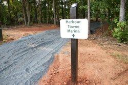 Harbortowne Marina trail