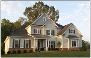 Peachtree Residential model home
