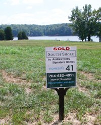 Lake Wylie waterfront lots for sale at McLean in Belmont, NC