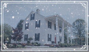 McLean House winter scene
