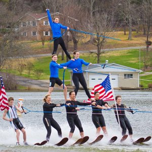 Carolinas Show Ski Team is one of the amazing activities on Lake Wylie