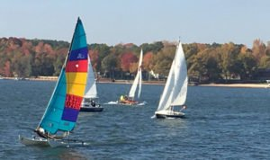 Catawba Yacht Club is one of the many activities on Lake Wylie