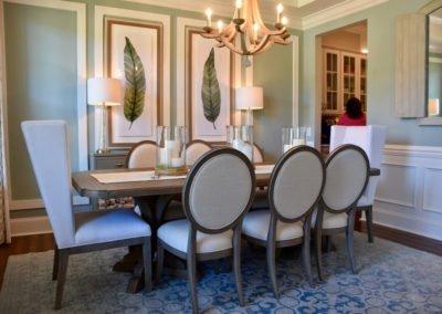 Wieland model dining room
