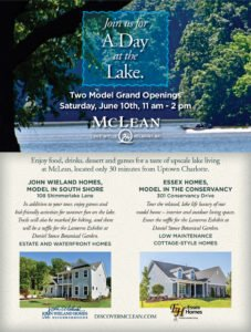 Day at the Lake home tours