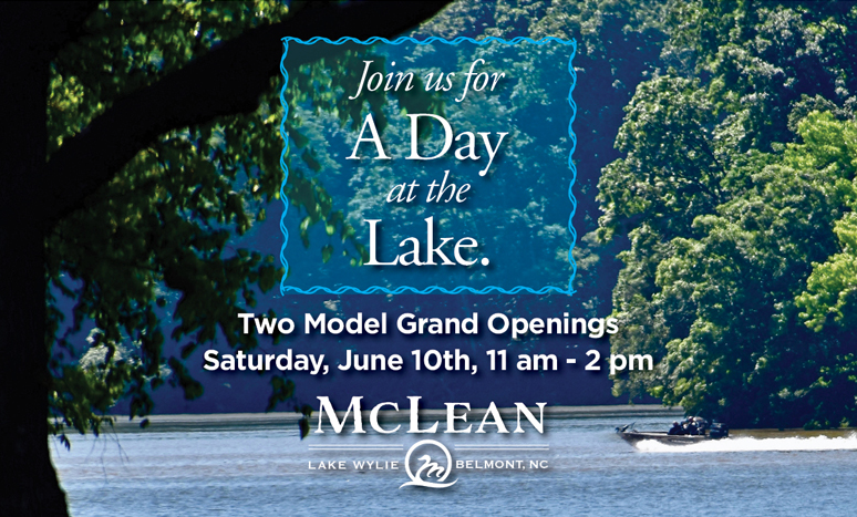 Join us for 2 model-home grand openings on June 10