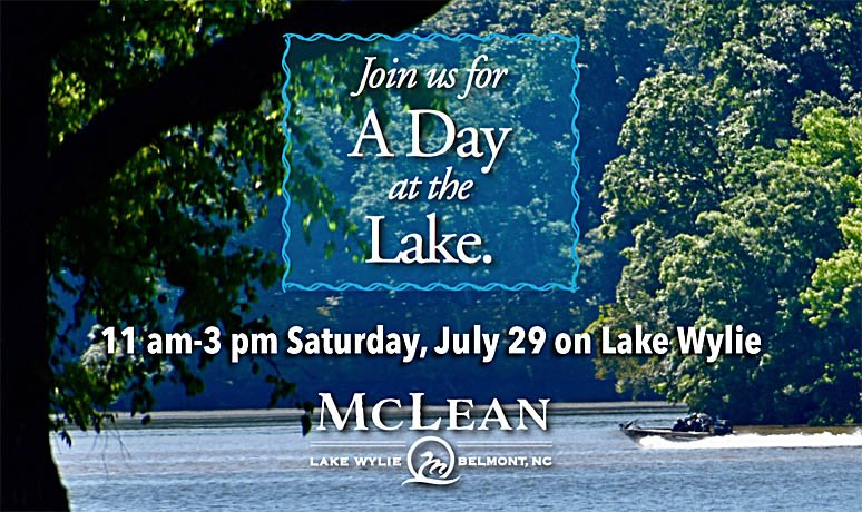 McLean invites you to A Day at The Lake on July 29