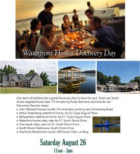 Waterfront Homes Discovery Day
