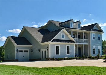 John Wieland Homes model home in South Shore at McLean