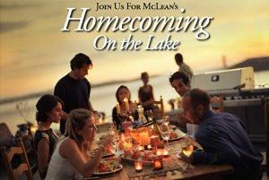 Homecoming on the Lake, Nov 4
