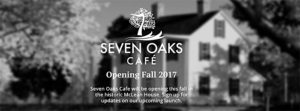 Seven Oaks Cafe at McLean House