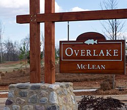Overlake entrance sign