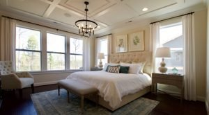 Evans Coghill master bedroom at Overlake