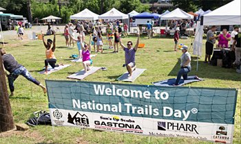 National Trails Day celebration