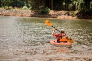 Kayaking at A Taste of Summer
