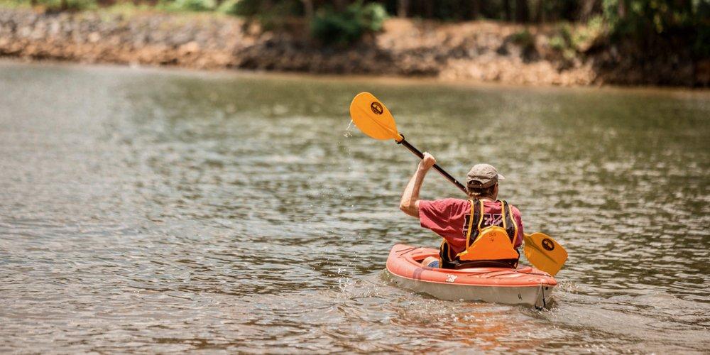 Kayaking at Taste of Summer 2018