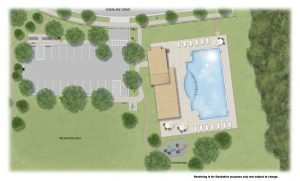 Overlake Amenity Colored Site Plan