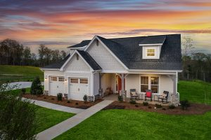 Evans Coghill model home