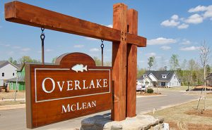 Entrance to Overlake on South New Hope Road