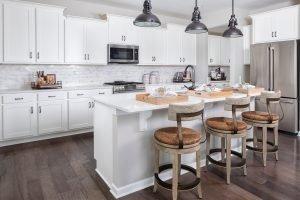 Kitchen at Shea Homes mode
