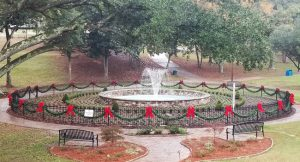 Stowe Park in historic Downtown Belmont, NC