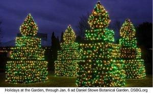 Daniel Stowe Botanical Garden Holidays in the Garden