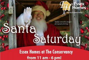 Santa at The Conservancy