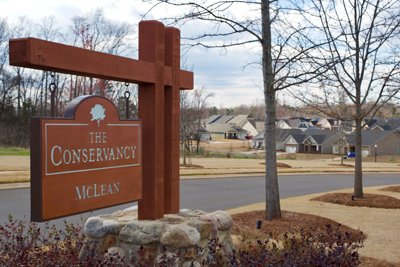 The Conservancy Entrance