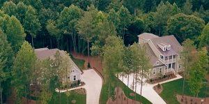 Estate homes at South Shore