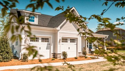Evans Coghill Homes model at Overlake