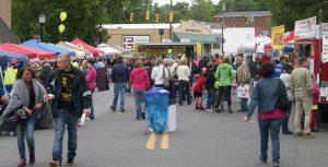 Garibaldi Fest in downtown Belmont