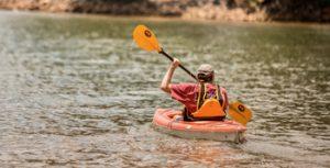 Kayaking at McLean