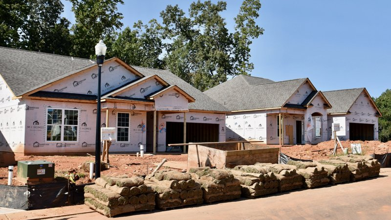 Final homes by M/I Homes at The Conservancy